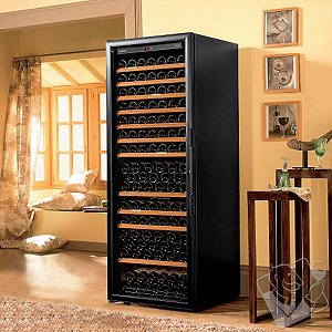 EuroCave Digital Comfort 260 Wine Cellar (1-Temp) (Black - Left Hinged Glass Door)