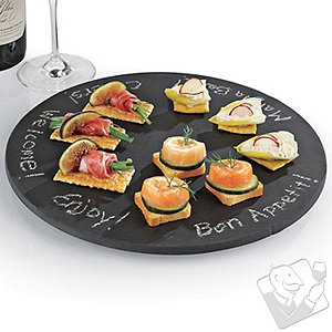 Slate Board Lazy Susan