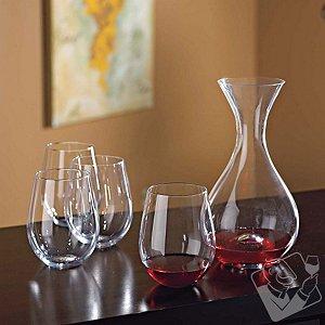 Wine Enthusiast U Decanter & Tumblers Gift Set
