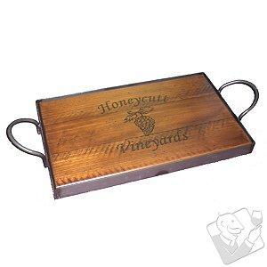 Personalized Napa Vineyard Tray