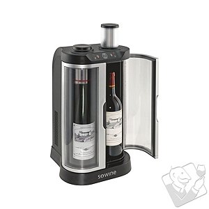 EuroCave SoWine Home Wine Bar (Silver Trim Door) - Wine Enthusiast