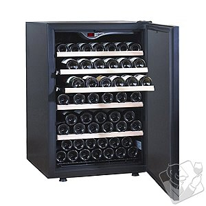 EuroCave Comfort 101 Wine Cellar (1-Temp) (Black - Solid Door)