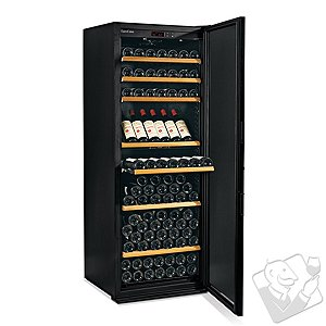 EuroCave Performance 283 Wine Cellar (1-Temp) (Black - Solid Door)