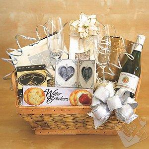 Wedding Bells Gift Basket