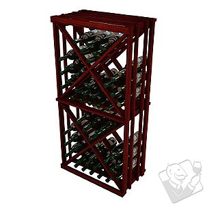 Vintner Designer Wine Rack Kit - Open Diamond Cube