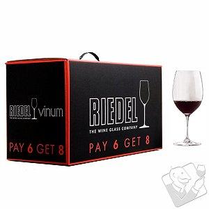 Pay 6 Get 8 Riedel Vinum Cabernet / Bordeaux (Set of 8)