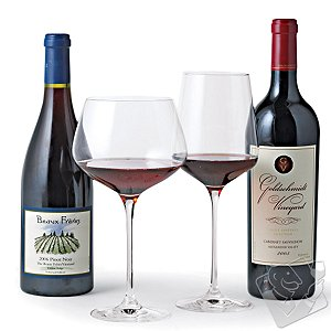 Fusion Infinity Red Wine Glass Collection (Set of 8)