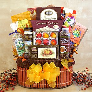 A World of Thanks Gourmet Gift Basket