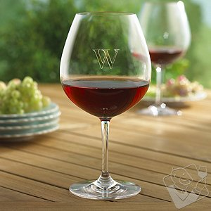 Personalized Indoor/Outdoor Pinot Noir Wine Glasses (Set of 4)