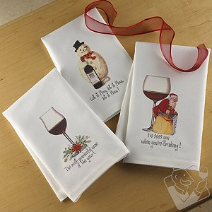 Holiday Art Kitchen Towels
