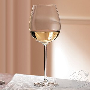 Tritan Diva Chardonnay / White Burgundy Wine Glasses (Set of 6)