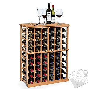 N'FINITY Wine Rack Kit - 6 Column Half Height