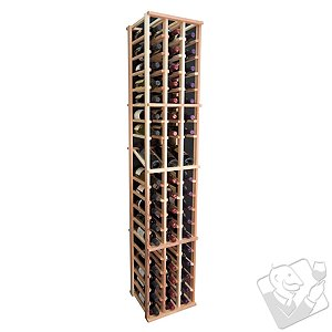 Designer Wine Rack Kit - 3 Column Individual w/ Display