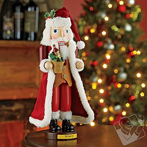 Winery Santa Nutcracker