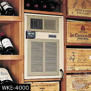 Breezaire WKE-8000 Wine Cellar Cooling Unit (Max Room Size = 2000 cu ft)