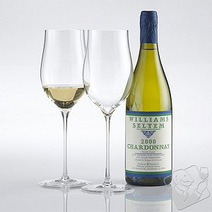 Fusion Triumph Chardonnay/White Burgundy Wine Glasses (Set of 2)