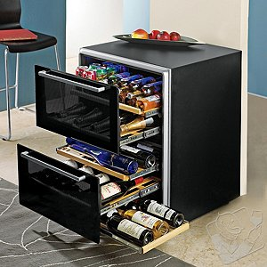 Matrix Wine & Beverage Cellar 2-Drawer (Dual Zone)