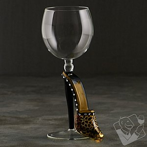 Collectible Stiletto Wine Glass