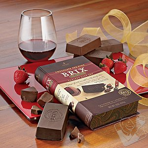 Brix Chocolate-for-Wine Gift Set