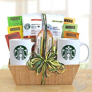 Starbucks Cocoa & Coffee Gift Basket