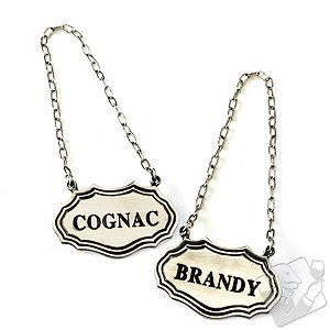 Decanter Tags (Cognac/Brandy)