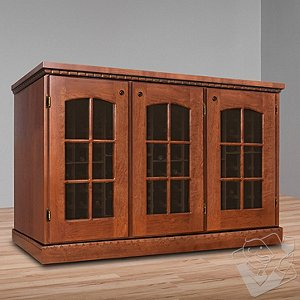 Vinotheque Clos Pegase Credenza with NFINITY Cooling Unit