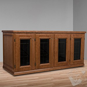 Vinotheque Franciscan Credenza with NFINITY Cooling Unit
