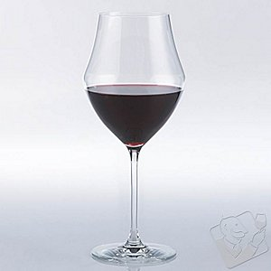 Fusion Whirl Cabernet/Bordeaux Wine Glasses (Set of 4)