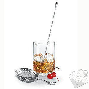 Yarai Cut Mixing Glass Set