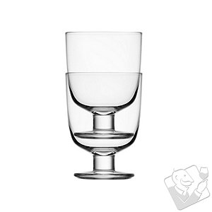Stackable Wine Glasses (Set of 2)
