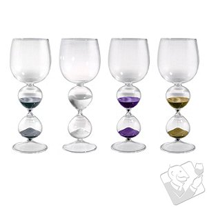 Wine Hourglasses (Set of 4)