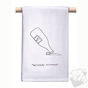 'Already Screwed' Bar Towel