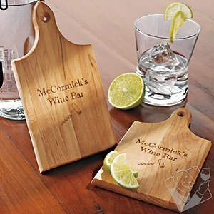 Personalized Mini Cutting Boards (Set of 2)