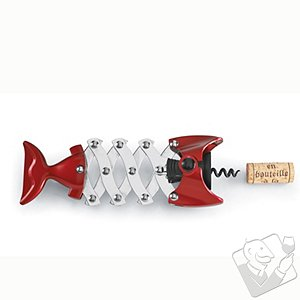 Fish Corkscrew (Red)