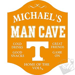 Tennessee Volunteers Man Cave Sign