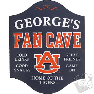 Auburn Tigers Fan Cave Sign