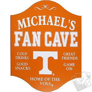 Tennessee Volunteers Fan Cave Sign