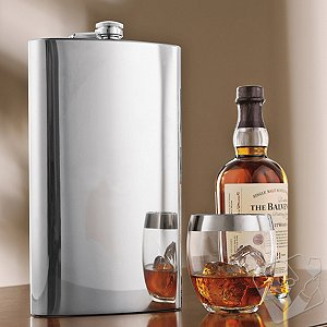 Giant Stainless Steel Flask (128 Oz)