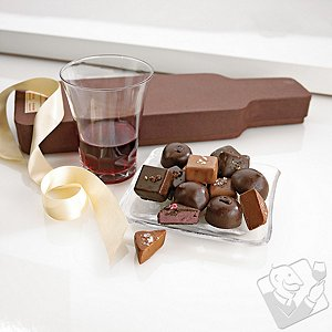 Zoe's Wine Bottle Chocolates