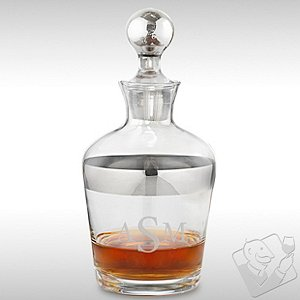 Monogrammed Madison Avenue Whiskey Decanter