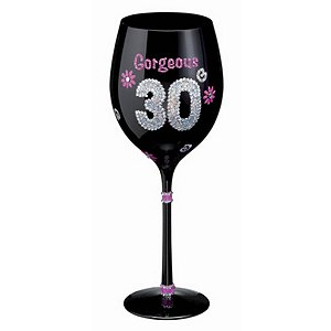 Birthday Wine Glass (30th)