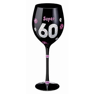 Birthday Wine Glass (60th)