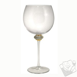 Rhinestone Wine Glass