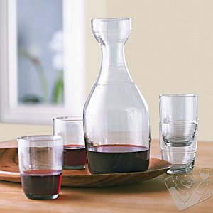 Recycled Carafe and Tumblers Set