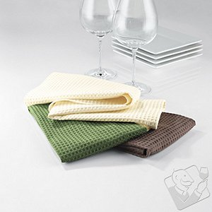 Organic Kitchen Bar Towels (Set of 3)