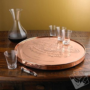 Copper Lazy Susan