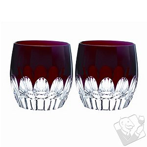 Waterford Mixology Talon Red Double Old Fashioned (Set of 2)