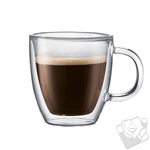Bodum Double Wall Coffee Mug (Set of 2)