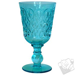Teardrop Goblet (Blue) (Set of 4)