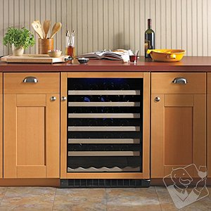 American Designer Series 54-Bottle Wine Refrigerator